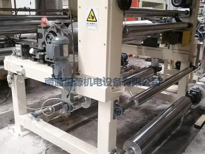 地板纸三氧化二铝喷涂机